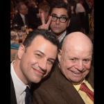 John Stamos photo-bombs Don & Jimmy Kimmel, Beverly Hills, CA, June 2015