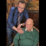 Don with Larry King, Beverly Hills, California, July 2014