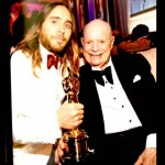 Don with Jared Leto at Vanity Fair Oscar Party March, 2014.