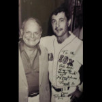 Don with baseball Hall of Famer Carl Yastrzemski