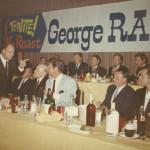 Bottom Row, from left - Don, George Raft, Dean Martin, Frank Sinatra, Robert Goulet. Top Row, from right - Edward G. Robinson, Robert Wagner, Pat Boone, Glenn Ford, Barry Sullivan.
