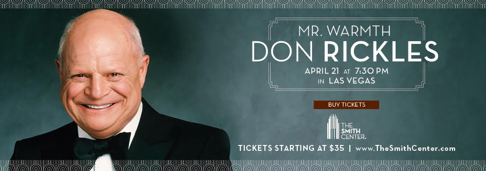 Don Rickles at Smith Center in Las Vegas