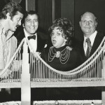 Don with Robert Goulet, Tony Bennett and Totie Fields.