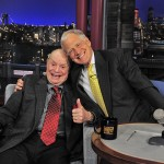 Don and David Letterman, June 18, 2013