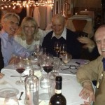 Martin Short, David Steinberg, Robyn Steinberg, Don and Bob Newhart, August 2014.