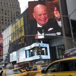 "Promotion for ""One Night Only: An All-Star Comedy Tribute to Don Rickles"" May 2014 in Times Square, NY."