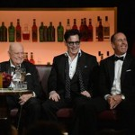 "Don with Johnny Depp and  Jerry Seinfeld  at ""One Night Only: An All-Star Comedy Tribute to Don Rickles"" May, 2014 at the Apollo Theater, New York."