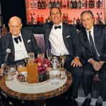 "Don with Marty Scorsese, Jerry Seinfeld, Jon Stewart and Johnny Depp at ""One Night Only: An All-Star Comedy Tribute to Don Rickles"" May, 2014 at the Apollo Theater, New York."